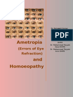 Errors of Eye Refraction and Homoeopathy