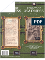 d20 Alderac Entertainment Group Legacy of Madness