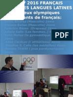 Les Jeux Olympiques Français