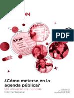 Labcom - Informe Semanal de Agenda Pública - Diciembre 16, Semana 3