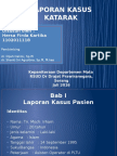 Ppt Case Katarak