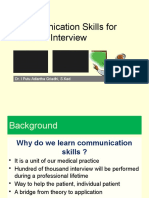 Day 4-Communication Skills for Medical Interview