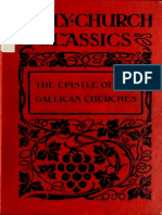 ECC the Epistle of the Gallican Churches. Tertullian's Address to Martyrs and Passion of St. Perpetua