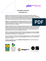 GEAC Programme Coordinator Job Description 2016