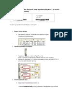 Imprimir Etiquetas