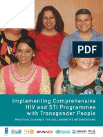 Implementing Comprehensive HIV and STI Programmes with Transgender People