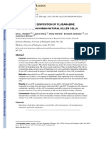 Disposition of Fludara in NK Cells