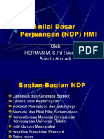 Presentase NDP Rekonstruksi III