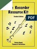 Gagne Denis - The Recorder Resourse Kit Studen