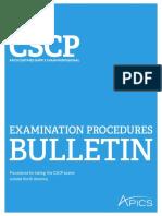 Cscp Bulletin Row