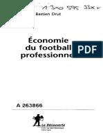 Economie Du Foot Pro