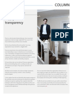 Column   Supply chain transparency