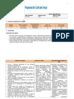 Plan Anual Matematicas 8vo