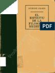 Gilson - El Espiritu de La Filosofia Medieval (1979)