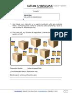 Guia de Aprendizaje Matematica 3BASICO Semana 1 2015
