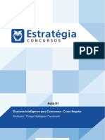 Pacote Para Concursos de Ti Cursos Regulares Business Intelligence Para Concursos Curso Regular Au 1
