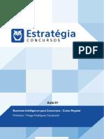 Pacote Para Concursos de Ti Cursos Regulares Business Intelligence Para Concursos Curso Regular Au 1