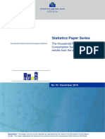 Statistics Paper Series The Household Finance and Consumption Survey