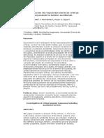 Investigación de Respuestas Sísmicas Críticas Incorporando La Torsión Accidental