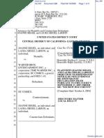 Joanne Siegel et al v. Warner Bros Entertainment Inc et al - Document No. 296