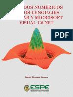 Métodos Numéricos en Los Lenguajes Matlab y Microsoft Visual C
