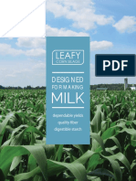 Leafy Corn Silage Hybrids Promotional Guide