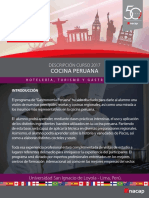 Ficha Cocina Peruana Inacap