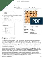 Benko Gambit - Wikipedia, The Free Encyclopedia
