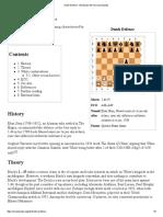 Dutch Defence - Wikipedia, The Free Encyclopedia