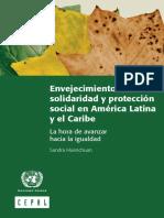 Envejecimiento Solidaridad y Proteccion Social