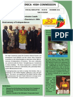 Dominica High Commission Newsletter | December 2016