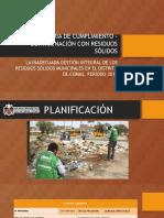 Auditoria de Cumplimiento – Contaminación Con Residuos Sólidos