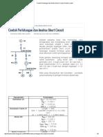 Contoh Perhitungan Dan Analisa Short Circuit _ Direktori Listrik