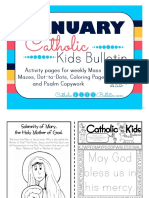 2017 January Catholic Kids Bulletin