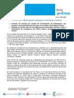 Nota de Prensa Nº 211-2016