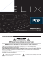 Helix Owners Manual - English