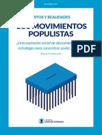 20161205 Mitos y Realidades Movimientos Populistas