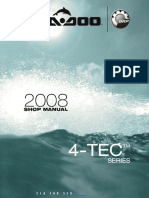 2008 Seadoo Shop Manual