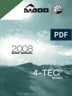2008 Seadoo Shop Manual