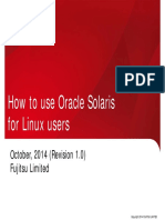 Solaris Tips for Linux Users e