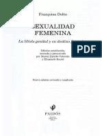 Dolto Francoise - Sexualidad Femenina