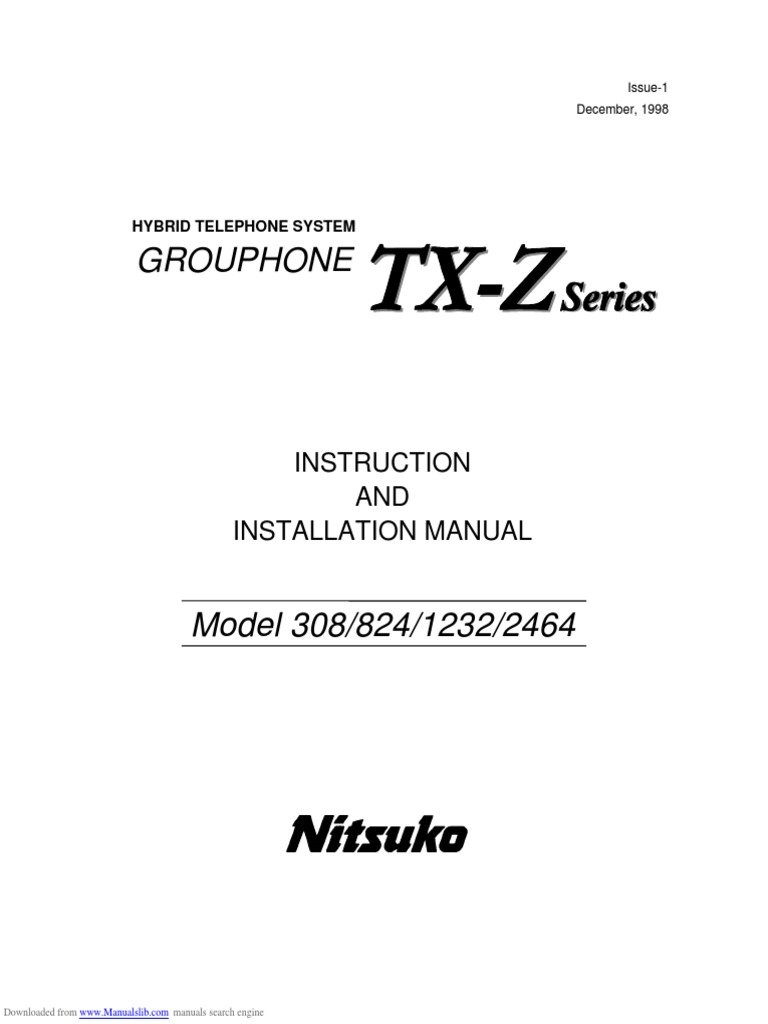 1232 Installation Manual | Electrical Connector | Amplifier on