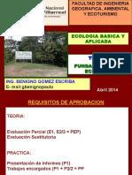 CLASE2014 I Fundamentos_Ecologia
