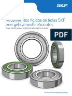 SKF Energy Efficient Deep Groove Ball Bearings 6692 3 ES