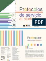 Protocolos de Servicio Al Ciudadano