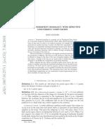 Singular Persistent Homology With Effective