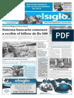 Edición Impresa Elsiglo 24-12-2016