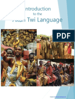 GH Twi Language Lessons