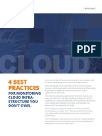 4 Best Practices for Monitoring Cloud Infrastructure You Do Not Own