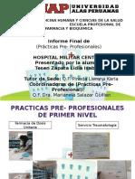 Exposicion Final Practicas Pre Profesionales